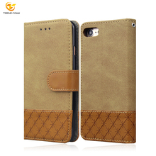 Mobile Phone Accessory Luxury Flip Card slot PU leather case cell phone wallet for Apple iphone 8