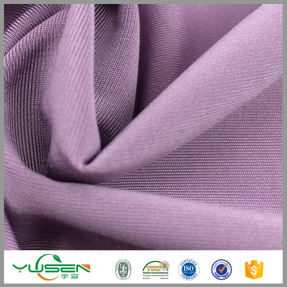 China Manufacturer spandex lycra polyester viscose spandex fabric nylon spandex for t-shirt
