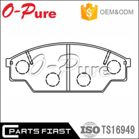 china wholesale auto parts Ceramic disc brake pads set break pad for Toyota Pickup 2WD 1 Ton 04465-YZZ56
