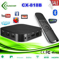 2014 best selling newest design rk3066 dual core tv box android media player xbmc with airmouse Rii X3 818B TV BOX