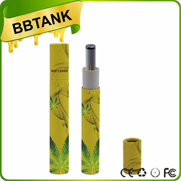 Glass Atomizer Wax Thick Oil Cartridge Clearomizer package