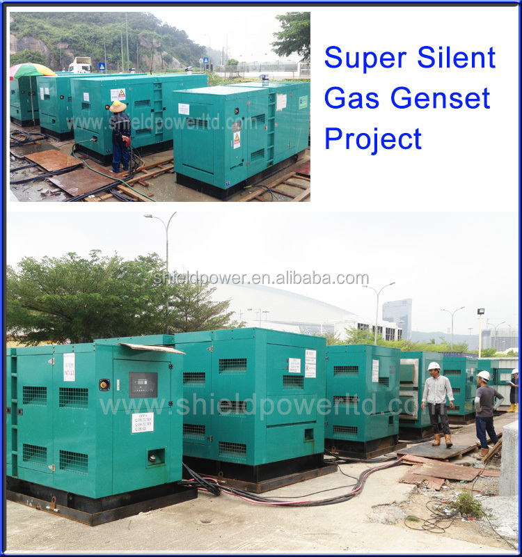 Best Selling Super Silent Biogas Generator, Natrual Gas Generator Set Factory