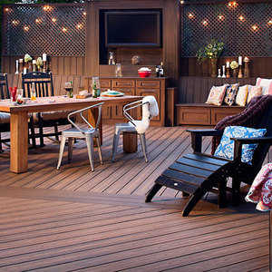 Eco friendly Composite Decking wpc building material wpc decking