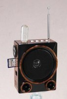 KS-103U gift mini FM radio speaker recorder