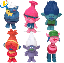 best selling DREAMWORKS Movie Trolls doll PVC custom action figure