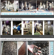 Good price biomass energy saw dust wood pellet production line machine