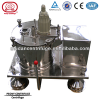 Model PS Top Discharge Basket Centrifuge Machine Spin Dryer Manual Discharging Machine Centrifugal