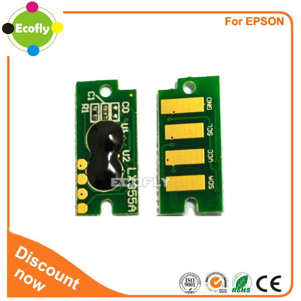 New arrival hot sell toner reset chip for epson c1700