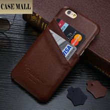 Genuine Litchi Back Leather Case For iPhone 5 5s with card holders ,For iPhone5 Genuine leather case ,For iPhone5s real leather