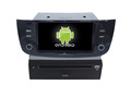 Quad core!car dvd with mirror link/DVR/TPMS/OBD2 for 6.2 inch touch screen quad core 4.4 Android system Fiat Linea