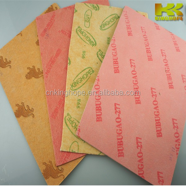 Padded fiber board for inner sole Nonwoven Insole Board polyester fiber board