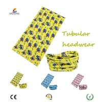 Ningbo Lingshang outdoor headwear 100% seamless polyester bandana 8 in 1
