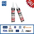 Self expanding acetoxy silicone adhesive sealant