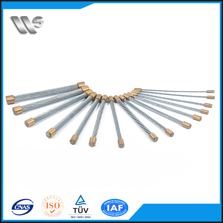 China Factory Wire Rod Hs Code Stainless Galvanized Steel Wire Strand For Cable