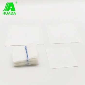 100% Cotton Absorbent Sterile Surgical Gauze Sponges / Gauze Pad /gauze Swab With X Ray Detectable
