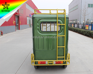 2018 New Electric Tuk Tuk Battery Rickshaw Tricycle For Passengers Sale