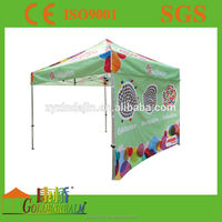 Full colour printing hiking outdoor portable easy up shade providing pop up canopy tent