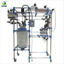 Pilot Chemical Reactor Price/ Lab Glass Reactor 1L~ 200l for Chemical Systhesis Reaction