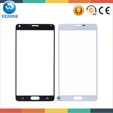 Original Touch Panel Lens For Samsung Galaxy Note4 N910 Outer Glass ,Touch Screen Glass For Samsung Galaxy Note 4 Front Glass