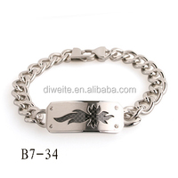 2014 Europe popular design personalized Fashion Link Titanium Jewelry Bracelet