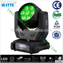 guangzhou hot sale CE ROHS certificate 14PCS sexy hot girl club MOVING HEAD BEAM LED STAGE LIGHT