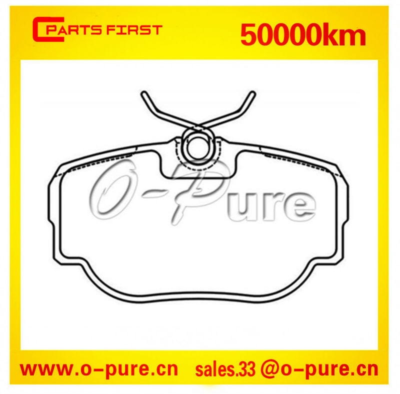 Semi-metal quality brake pad SFP100470 for Land Rover spare parts Range Rover spare part none asbestos good price