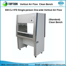 Biology Lab Wall Bench SW-CJ-1FD Single-person One-side Vertical Air Flow (Standard) Clean Bench