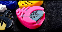 Guitar picks box ,case for picks,colorful hot sale for promotions(PK-Z10)