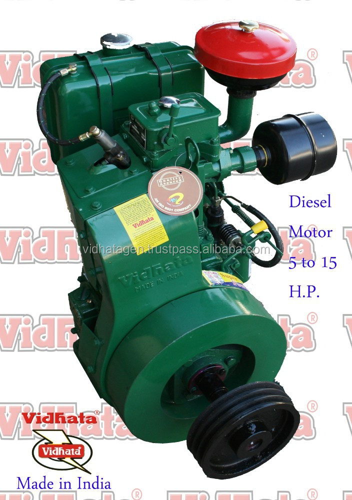 Diesel Engine lister india 10 hp air cooled