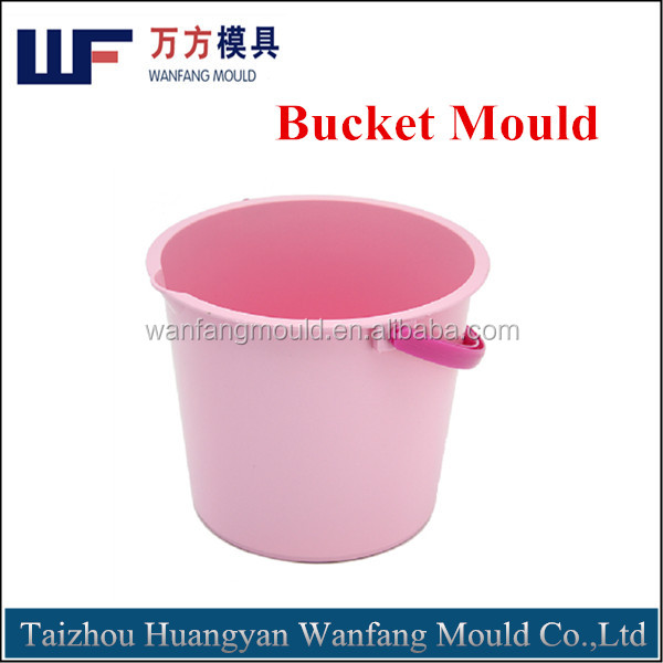 household products plastic 20L bucket injection mould/custom design plastic bucket injection mold