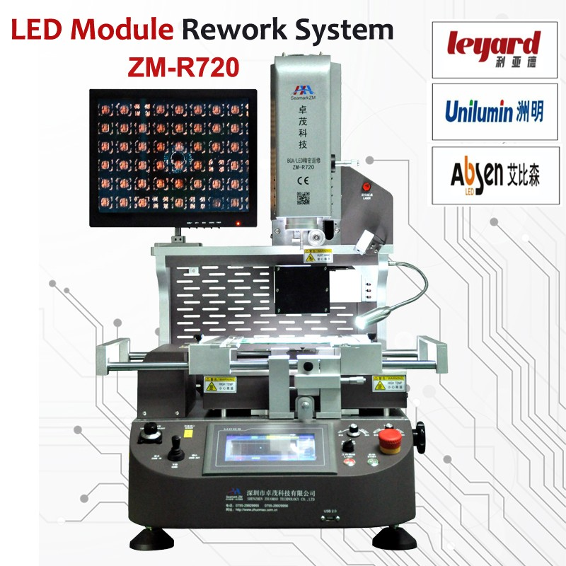 electronic component chip removal machine tools ZM-R720 bga ic chip soldering and desoldering station