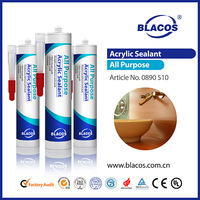 China manufacturer coloured acrylic sealant for bathrooms