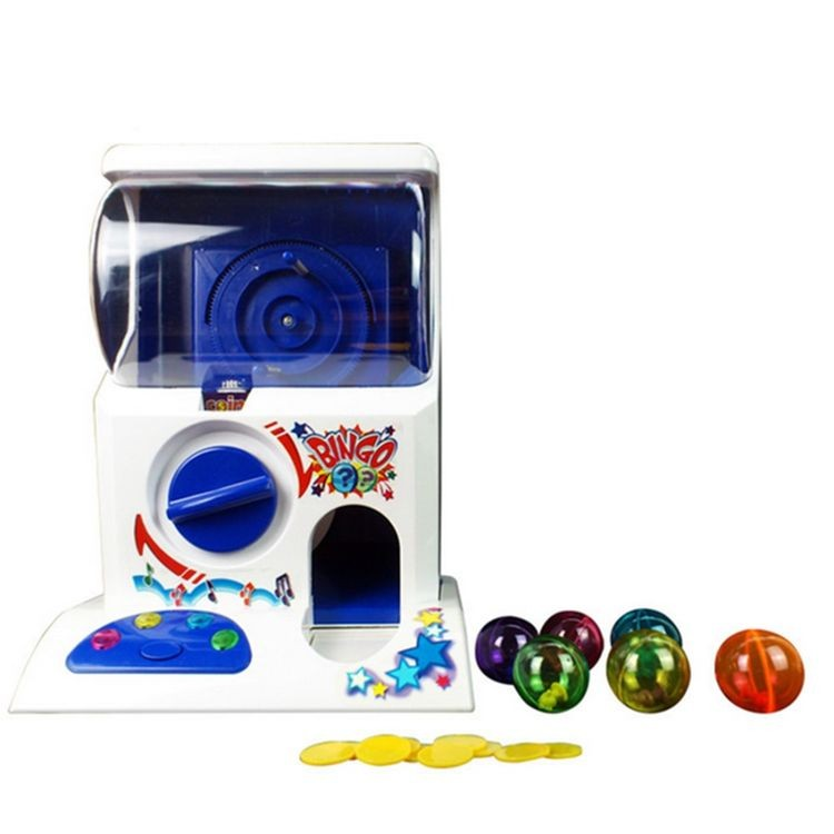 gm98956-Coin Operated Funny Capsule Machine With Sound & Flash light