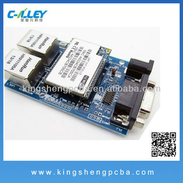 PCBA/PCB Layout/PCB Assembly for Wifi Module(Wifi / Ethernet / Serial UART)