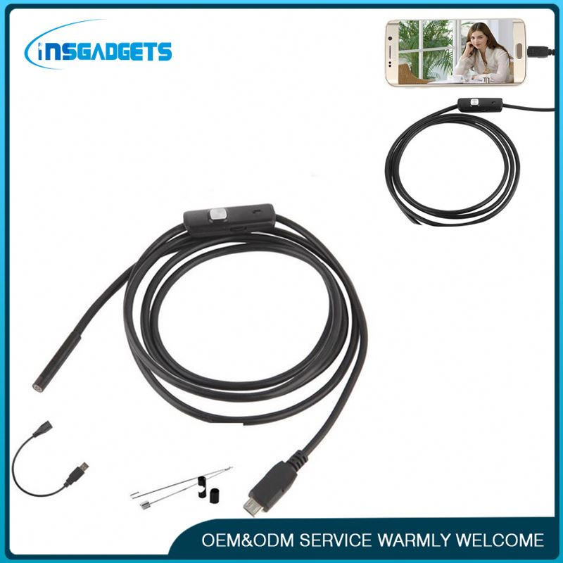 New products in 2016 1m IP67 endoscope insertion tube ,h0txn usb endoscope camera medical