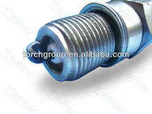 bajaj pulsar spare parts spark plug with thread M18*1.5 ,double J gap iridium spark plug with gasket seat