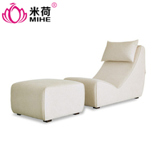MIHE modern fashion and comfortable fabric chesterfield sofa