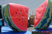 Inflatable floating advertising watermelon helium balloon/ inflatable cloud sky balloon /custom giant watermelon balloons K7006