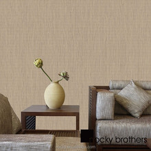 European wallpaper Contemporary and contracted Plain colored stripes natural textures for Living room TV wall wallpaper