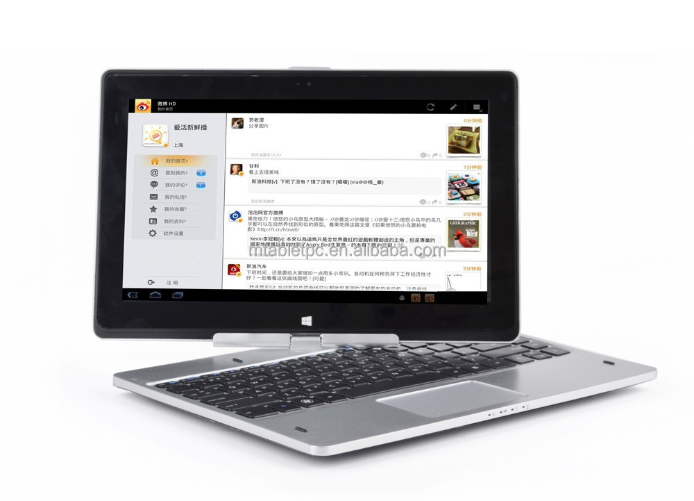 11.6 inch windows8 tablet pc HD 1366*768 Ten-point capacitive touch 360 rotation mini Touch <strong>Computer</strong>