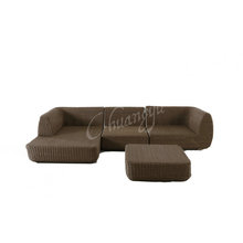Oem Accept garden wicker sofa set of balcony leisure wicker furniture