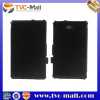 Black Litchi PU Leather Cover For Dell Venue 8 Pro With Hand Strap
