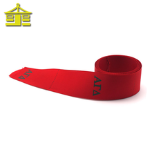 Jacquard 75mm custom printed brand embroidery elastic name character celebrate it wholesale christmas printed ribbon