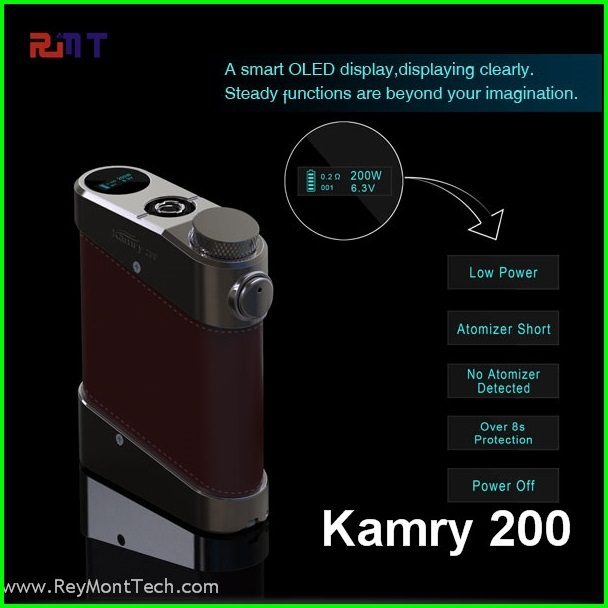 new products 2015 the best vv vw kamry 200 watt mod box