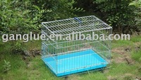 Dog Cage two doors thin wire