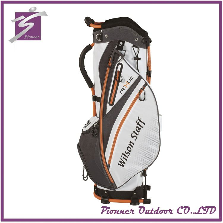 Cheap Polyester golf bag top divider with wheels