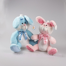 hot selling pretty plush rabbit toys stuffed animals wholesale