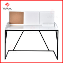 Wooden and Metal Design Computer and Study Desk Tables