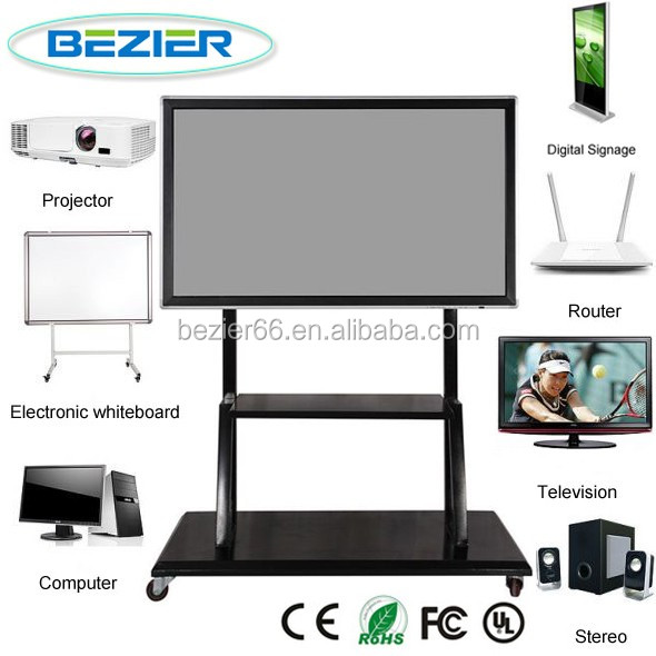 BESSER 65 inch Android Ultra HD 4K LCD Interactive whiteboard with dual systems and OPS