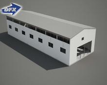 PEB Industrial Used Prefabricated Steel Structure Warehouse Drawing